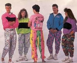 This image has an empty alt attribute; its file name is 80s-fashion.jpg